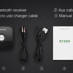 Bluetooth 4.1 AUX приемник UGREEN (6)