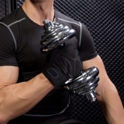 Перчатки для фитнеса, тренажеров