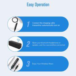 Передатчик UGREEN Трансмиттер Bluetooth 4.2 aptX