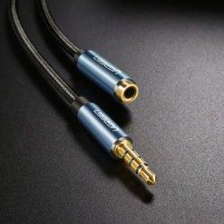 Кабель AUX mini Jack микрофон Ugreen AV118 (40695) удлинитель 2m Kamstore.com.ua