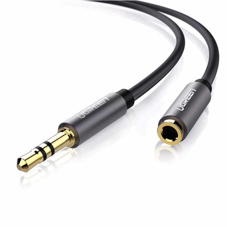 Удлинительный кабель AUX 5m mini Jack 3,5 мм Ugreen (10538) Kamstore.com.ua