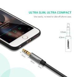 Удлинительный кабель AUX 5m mini Jack 3,5 мм Ugreen (10543) Kamstore.com.ua