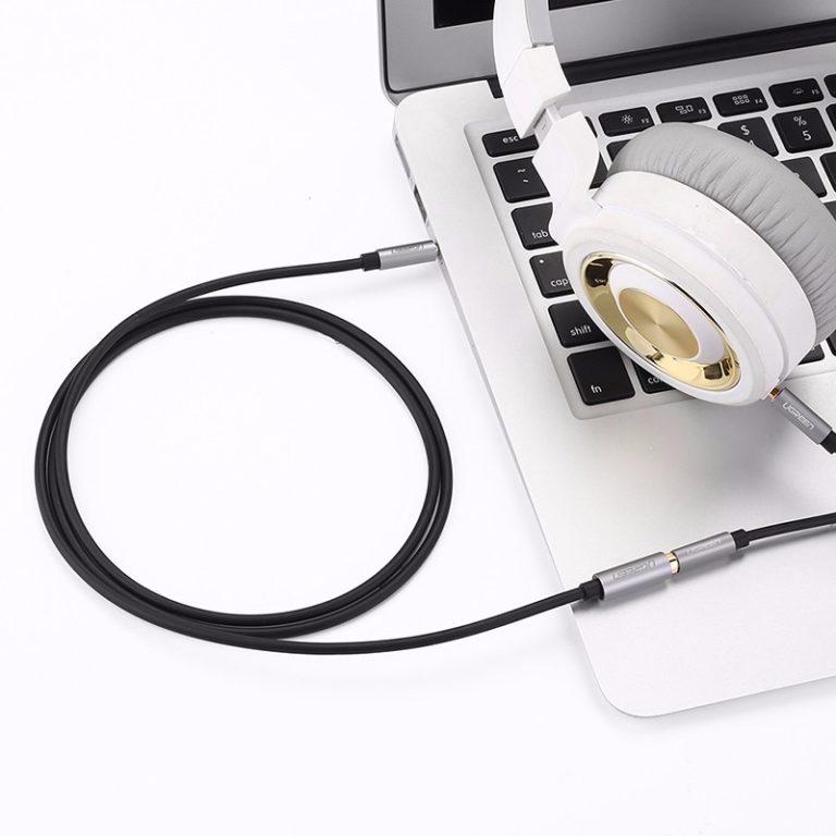 Удлинительный кабель AUX 5m mini Jack 3,5 мм Ugreen (10548) Kamstore.com.ua