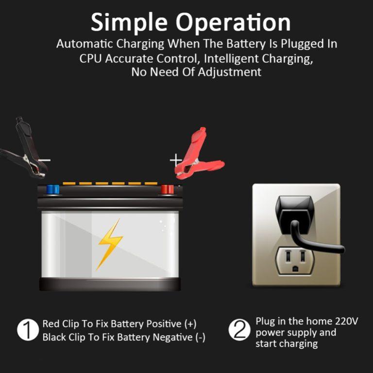 Зарядное для автомобильных аккумуляторов Kamstore.com.ua (2)