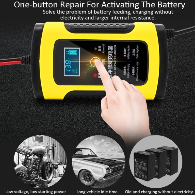 Зарядное для автомобильных аккумуляторов Kamstore.com.ua (4)