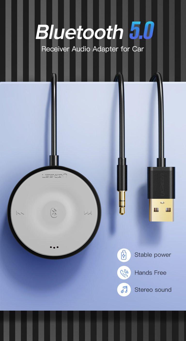 Bluetooth 5.0 AptX LL ресивер Ugreen CM125 40760 Kamstore.com.ua (10)
