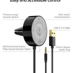 Bluetooth 5.0 AptX LL ресивер Ugreen CM125 40760 Kamstore.com.ua (2)