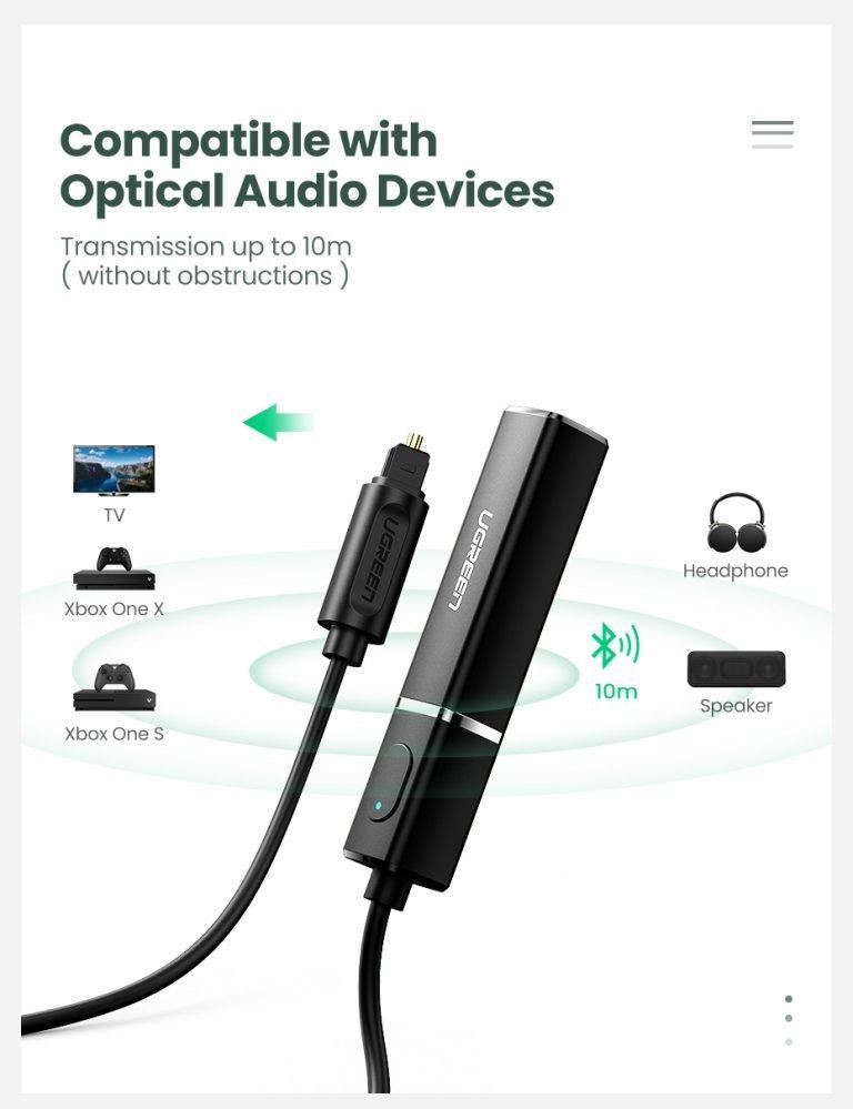 Stereo transmitter Ugreen CM150 50213 Kamstore.com.ua (4)