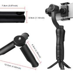 Стабилизатор для телефона стэдикам KEELEAD S5 Gimbal Kamstore.com.ua (12)
