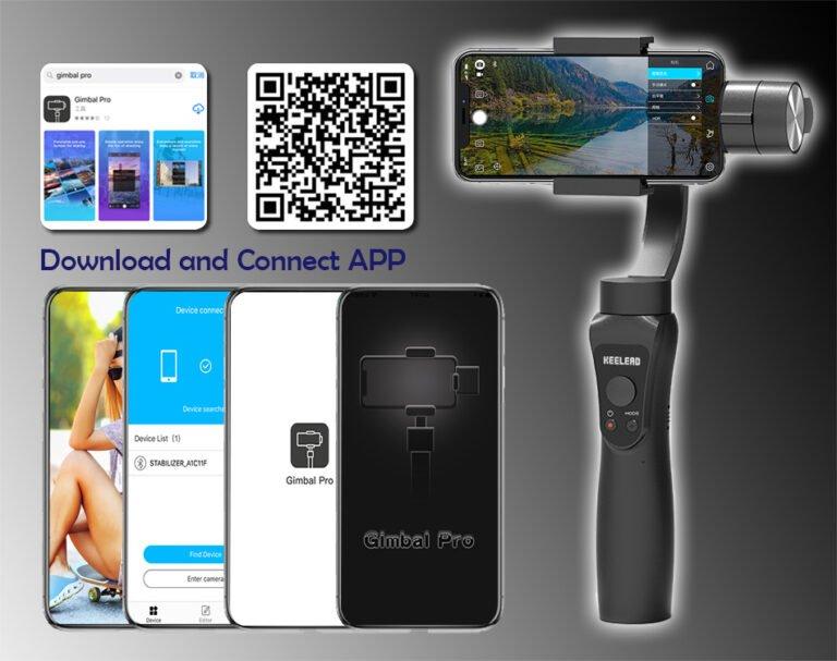 Стабилизатор для телефона стэдикам KEELEAD S5 Gimbal Kamstore.com.ua (18)
