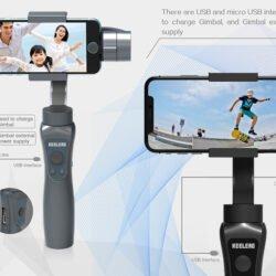 Стабилизатор для телефона стэдикам KEELEAD S5 Gimbal Kamstore.com.ua (2)