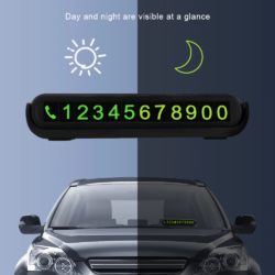 Табличка с номером телефона светящиеся цифры, ароматизатор Kamstore.com.ua (3)