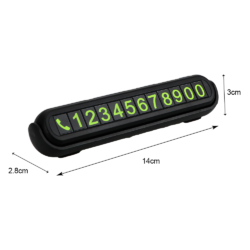 Табличка с номером телефона светящиеся цифры, ароматизатор Kamstore.com.ua (8)