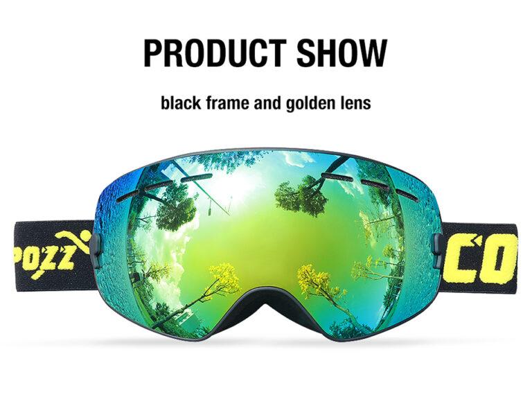 Маска очки дитячі для лиж сноуборда COPOZZ GOG-243 Kamstore.com.ua