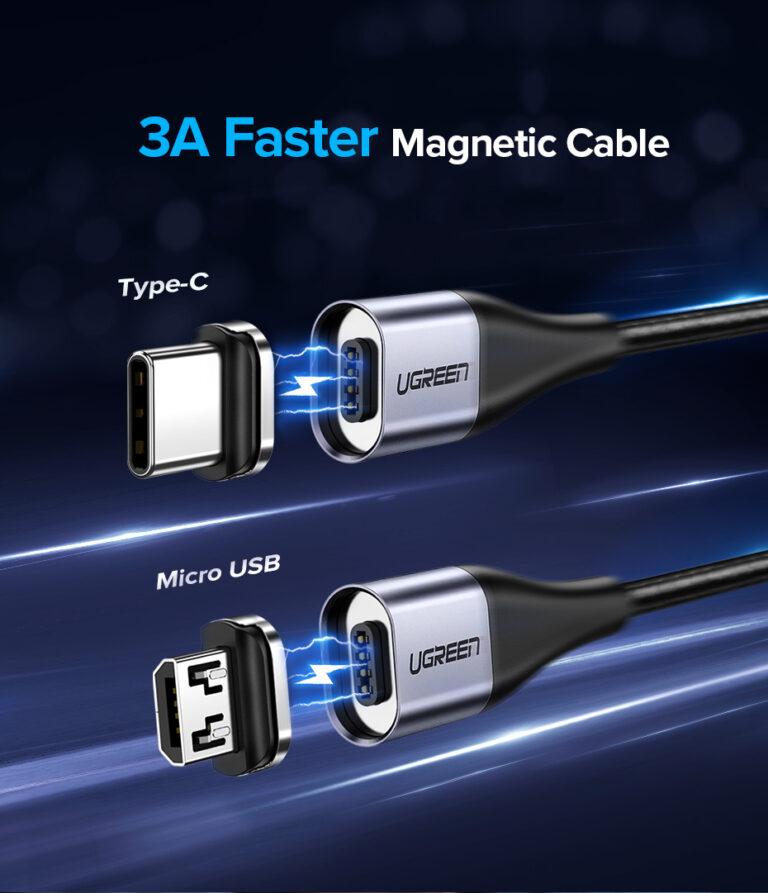 Магнитный кабель Micro USB Ugreen 60207.1
