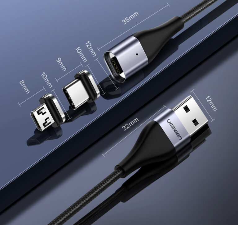 Магнитный кабель Micro USB Ugreen 60207.8