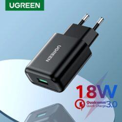 Сетевое зарядное устройство Ugreen USB Quick Charge 3.0 FCP 18W (UG-70273).1