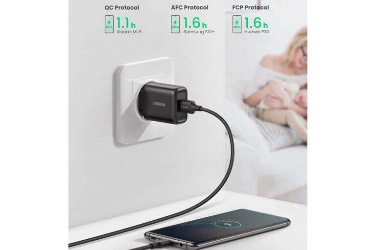 Сетевое зарядное устройство Ugreen USB Quick Charge 3.0 FCP 18W (UG-70273).3