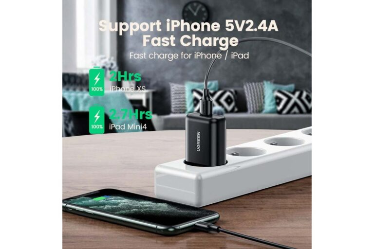 Сетевое зарядное устройство Ugreen USB Quick Charge 3.0 FCP 18W (UG-70273).5