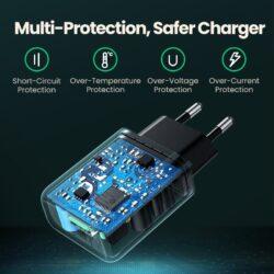 Сетевое зарядное устройство Ugreen USB Quick Charge 3.0 FCP 18W (UG-70273).6