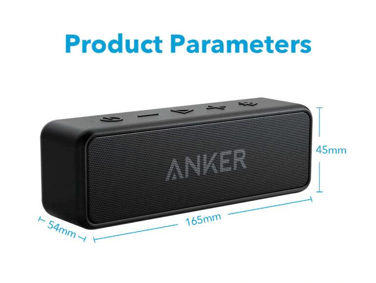 Портативная колонка ANKER SoundCore 2 Black IPX7 (A3105) Kamstore.com.ua (2)