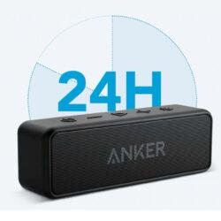 Портативная колонка ANKER SoundCore 2 Black IPX7 (A3105) Kamstore.com.ua (4)