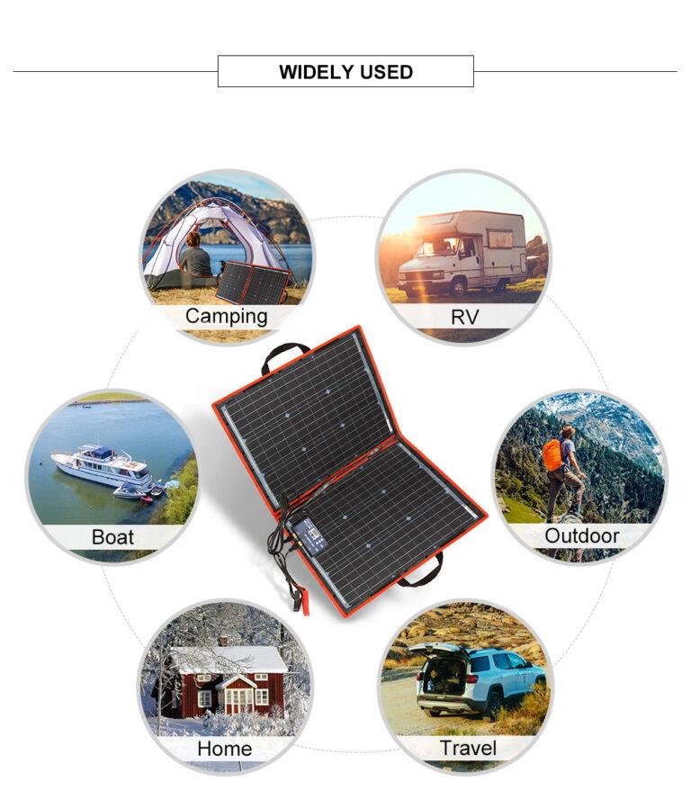 солнечная панель DOKIO 110Вт 12V с контроллером Kamstore.com.ua (12)
