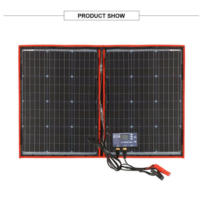 солнечная панель DOKIO 110Вт 12V с контроллером Kamstore.com.ua (15)