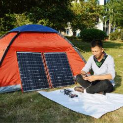 солнечная панель DOKIO 110Вт 12V с контроллером Kamstore.com.ua (18)
