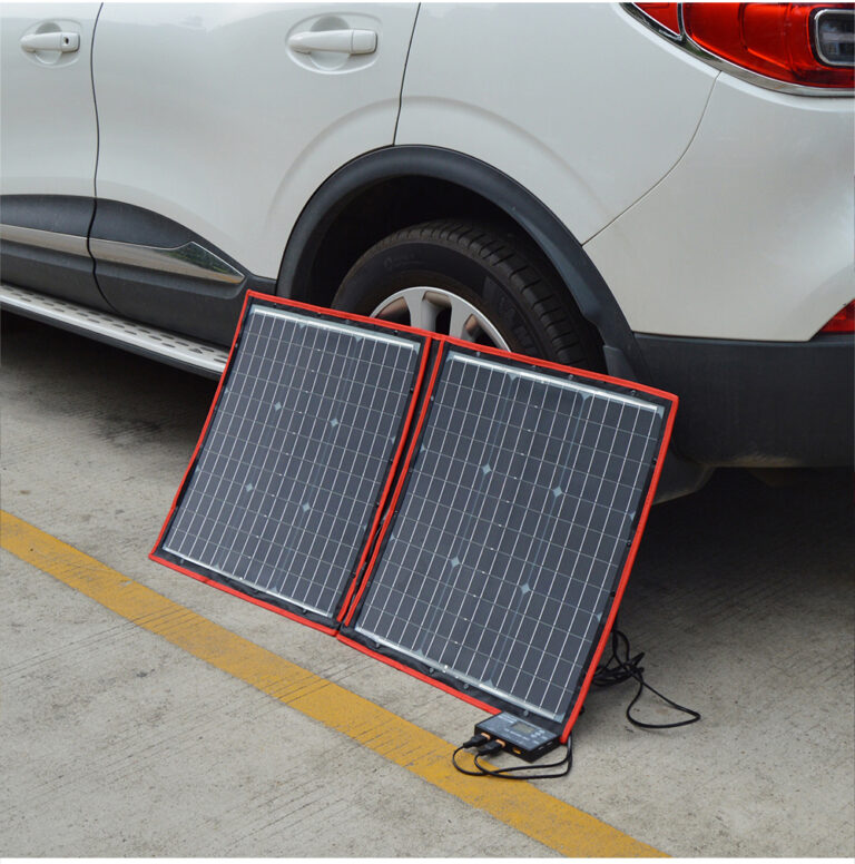 солнечная панель DOKIO 110Вт 12V с контроллером Kamstore.com.ua (2)