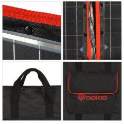 солнечная панель DOKIO 110Вт 12V с контроллером Kamstore.com.ua (20)