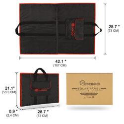 солнечная панель DOKIO 110Вт 12V с контроллером Kamstore.com.ua (21)