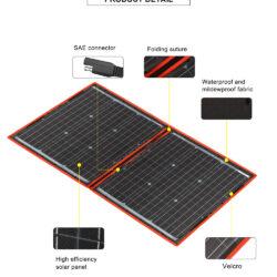 солнечная панель DOKIO 110Вт 12V с контроллером Kamstore.com.ua (5)