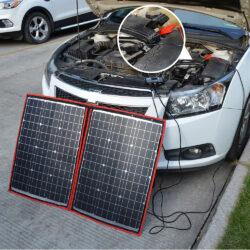 солнечная панель DOKIO 110Вт 12V с контроллером Kamstore.com.ua (9)