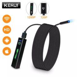 Беспроводной Wi-Fi эндоскоп USB для телефона ПК KERUI 1200P 2Mp 8mm HARD Kamstore.com.ua (4)