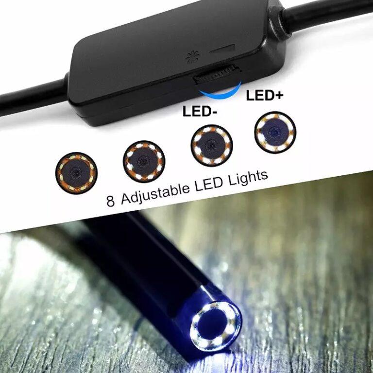 Беспроводной Wi-Fi эндоскоп USB для телефона ПК KERUI 1200P 2Mp 8mm HARD Kamstore.com.ua (5)