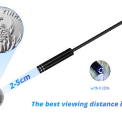 Беспроводной Wi-Fi эндоскоп USB для телефона ПК KERUI 1200P 2Mp 8mm HARD Kamstore.com.ua (6)