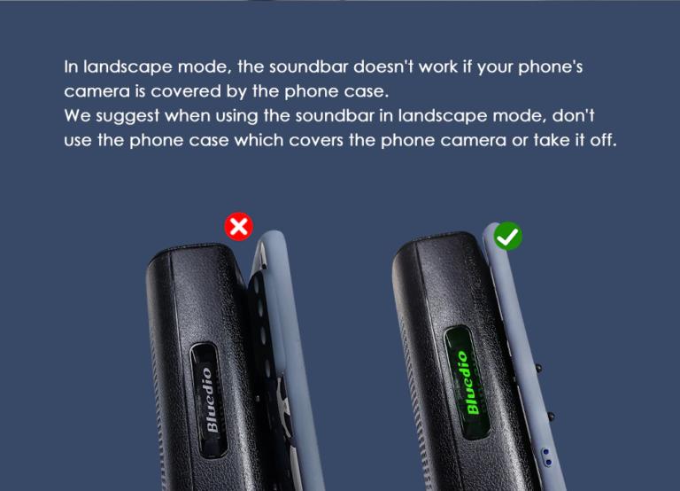 Портативный беспроводной SoundBar для телефона Bleudio MS (30)