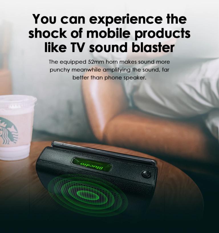 Портативный беспроводной SoundBar для телефона Bleudio MS (33)