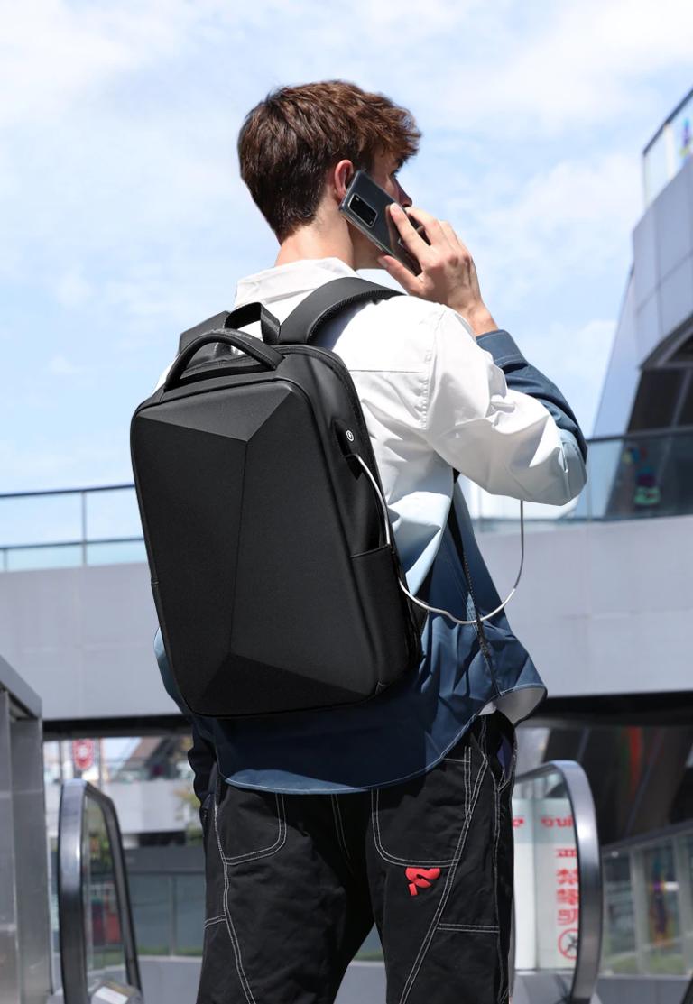 Рюкзак сумка для ноутбука Антивор USB Fenruien 5013 Kamstore.com.ua (13)