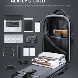 Рюкзак сумка для ноутбука Антивор USB Fenruien 5013 Kamstore.com.ua (16)