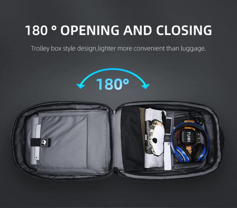 Рюкзак сумка для ноутбука Антивор USB Fenruien 5013 Kamstore.com.ua (8)