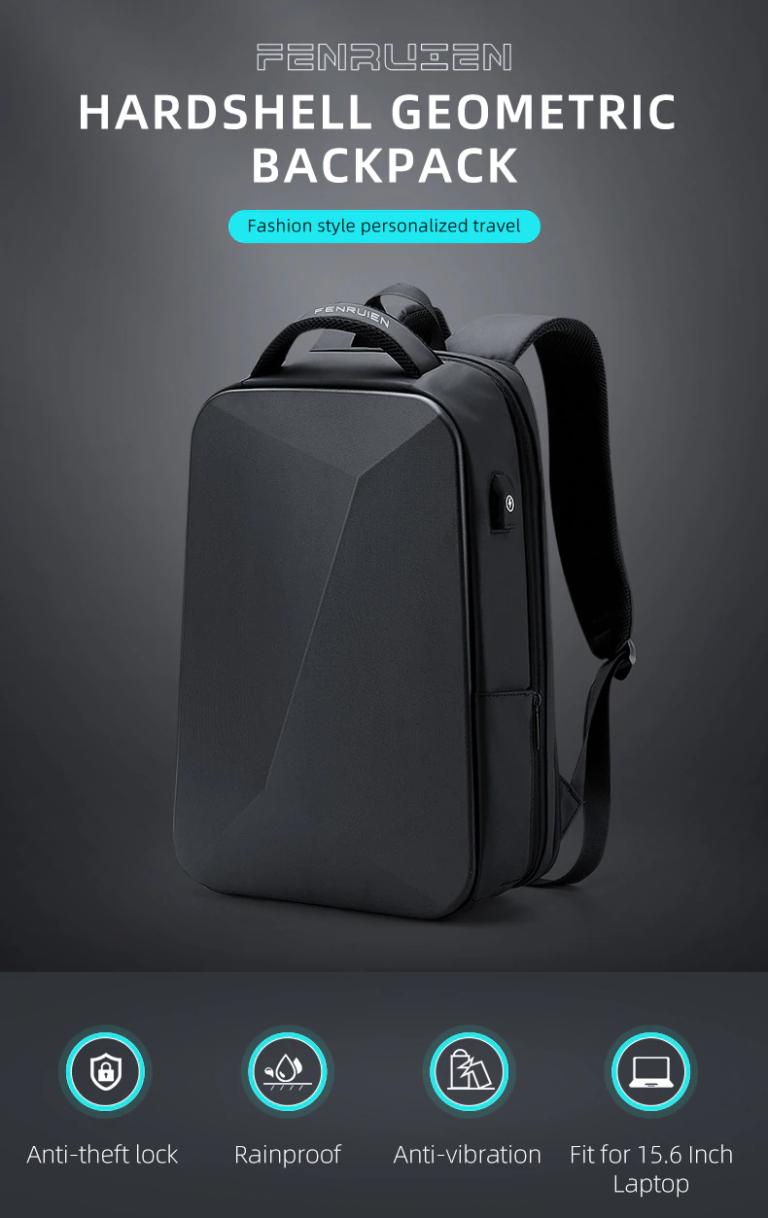 Рюкзак сумка для ноутбука Антивор USB Fenruien 5013 Kamstore.com.ua (9)