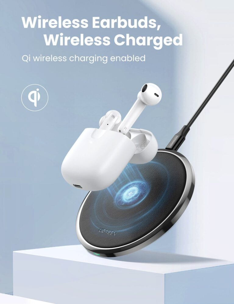 Беспроводные наушники TWS стерео HiFi ENC Bluetooth 5.0 UGREEN 80651 HiTune T2 (WS105) Kamstore.com.ua (5)