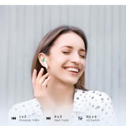 Беспроводные наушники TWS стерео HiFi ENC Bluetooth 5.0 UGREEN 80651 HiTune T2 (WS105) Kamstore.com.ua (7)
