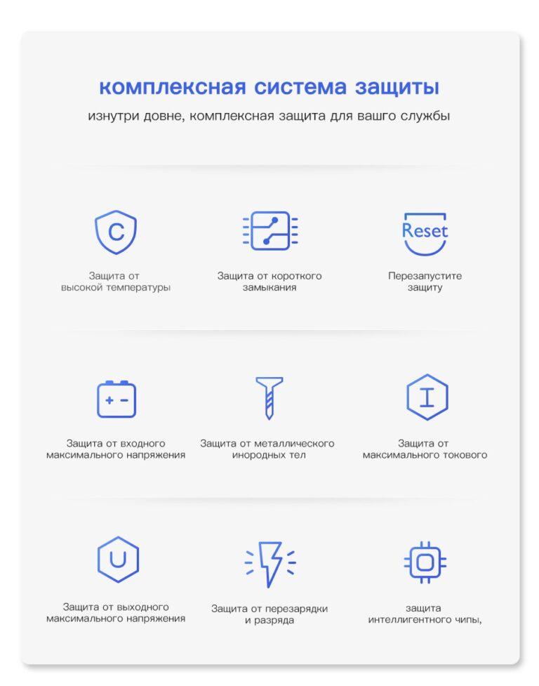 Power Bank Quick Charge 18W PD с LED индикацией KUULAA KL-YD01Q 10000 мАч Black Kamstore.com.ua (17)