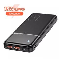 Power Bank Quick Charge 18W PD с LED индикацией KUULAA KL-YD01Q 10000 мАч Black Kamstore.com.ua (6)